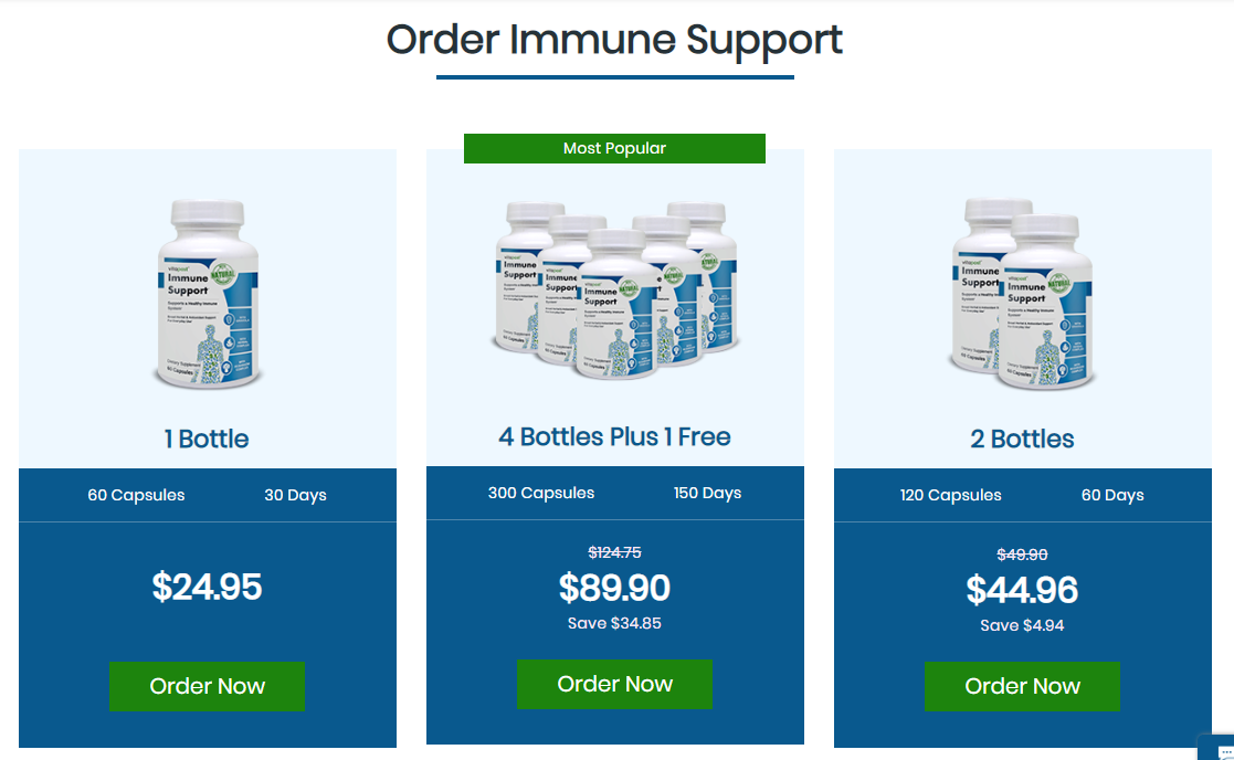 Immune support nutrition